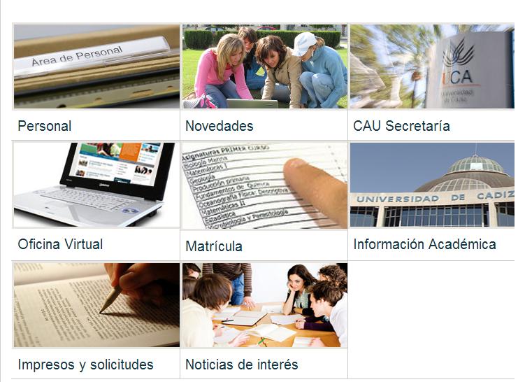 Plantillas — Universidad de Cádiz