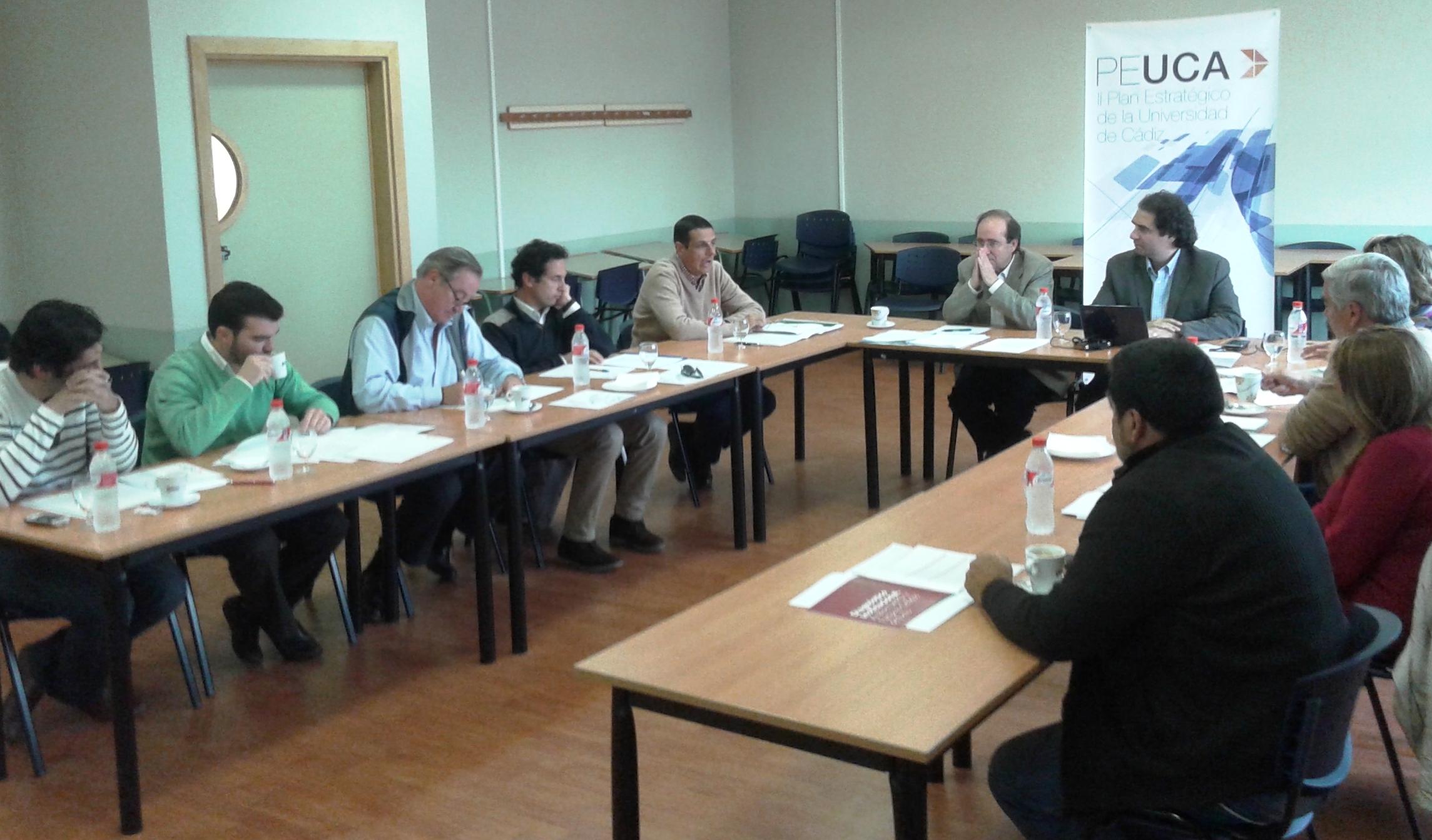 El Plan Director de la Facultad de Ciencias del Mar y Ambientales continua su elaboración con la celebración de cuatro grupos focales.