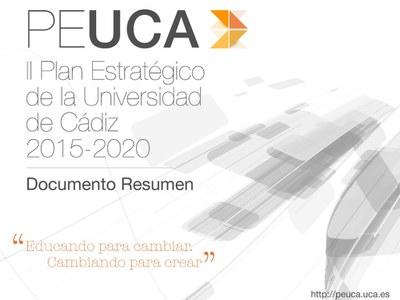 El II PEUCA inicia su exposición pública y organiza la próxima semana sesiones informativas en los cuatro campus de la Universidad de Cádiz